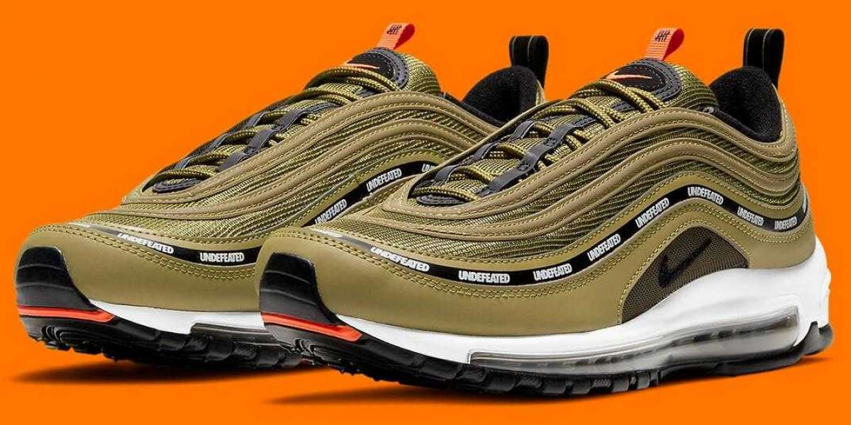 Undefeated x Nike Air Max 97 Militia Green to Drop for 2020 Chrismas
